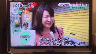 フジテレビFNN『みんなのニュース』茜屋すしぎん特集(2018.8.28)