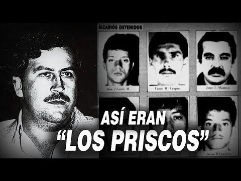 ASÍ ERAN LOS BANDIDOS MAS LETALES de Pablo Escobar |