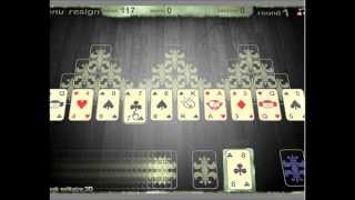 3d Tripeaks solitaire -  the card animations are awesome