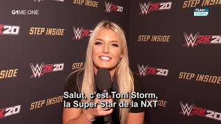 #TEAMG1 Story -  L'interview de Toni Strom sur WWE 2K20