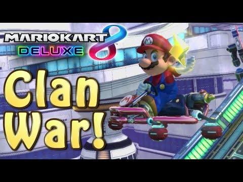 Mario Kart 8 Deluxe MKU 200cc Clan War - BzK Vs. PT #2