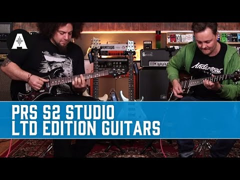 PRS S2 Studio - Stunning Limited Edition American-made Guitars