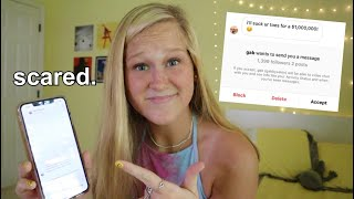 reacting to my really weird instagram DM's...