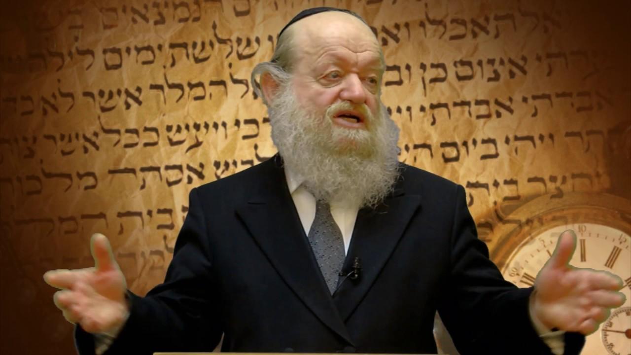 הרב יוסף בן פורת - מה עומד מאחורי תענית אסתר?