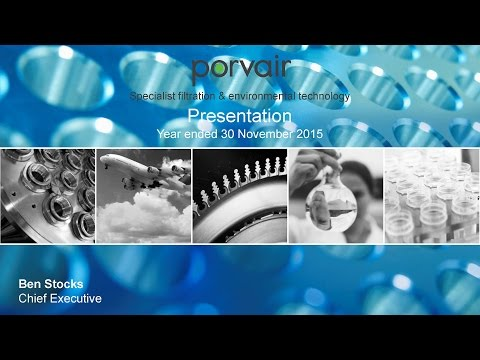 Porvair - PRV - Equity Developments Investor Forum 27th Jan