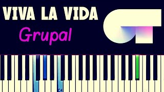 OT Grupal - Viva la vida | Piano Tutorial Cover