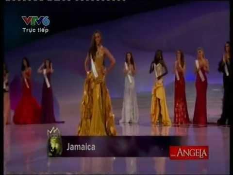 Hoa hậu thế giới 2012 - Chung kết - Top 7 & trả lời câu hỏi - Hoa hau the gioi 2012