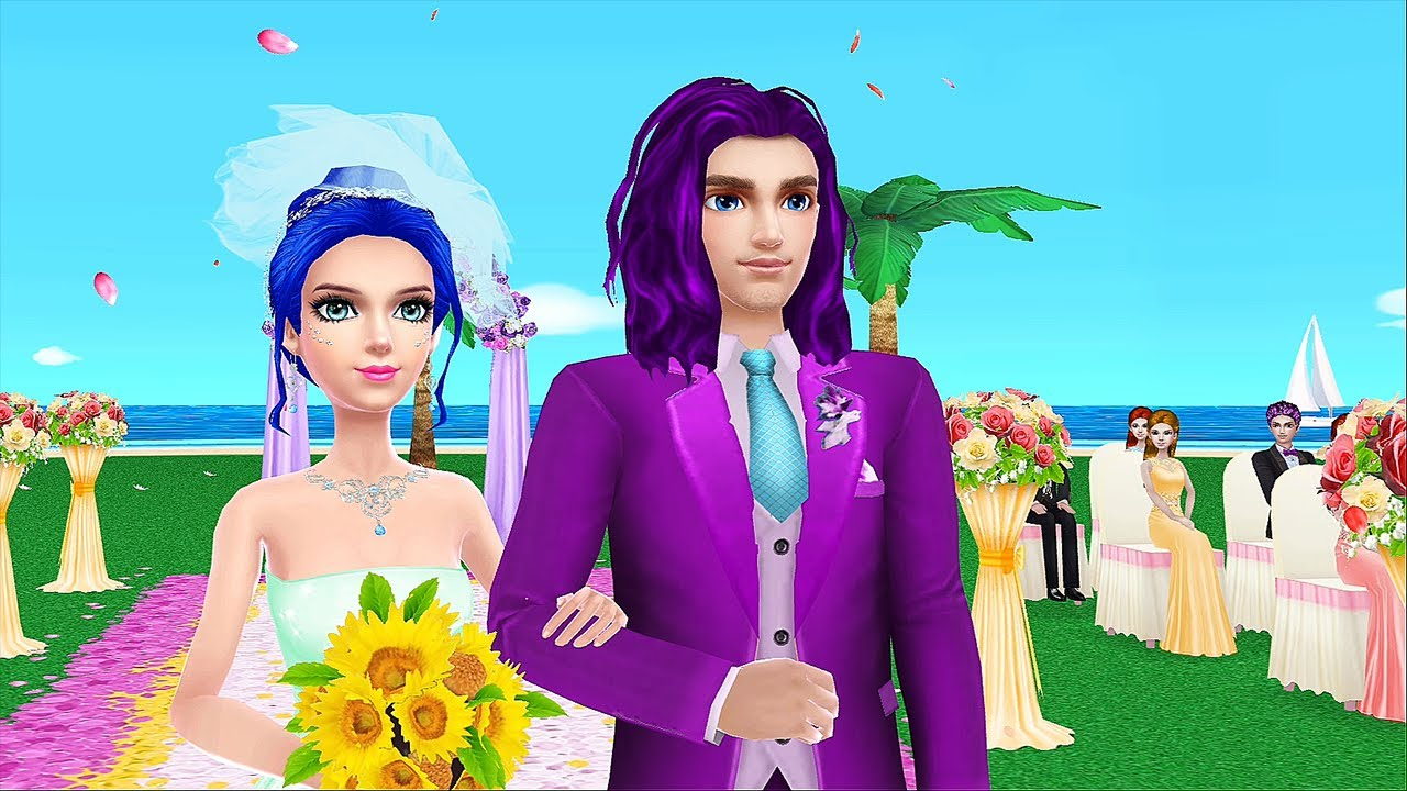 Wedding Planner Fun Spa Makeup Girl Game - Dress up, Color Hairstyles & Cakes Design games for girls