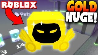 SUBSCRIBER GIVES me THE GOLD DOMINUS HUGE! - Roblox: Pet Simulator