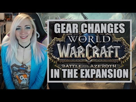 Gear in Battle for Azeroth | Legendaries, Artifacts, & Azerite | World of Warcraft thumbnail