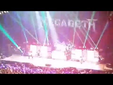 MEGADETH play 1st show in a year - Finland - setlist and video now posted!