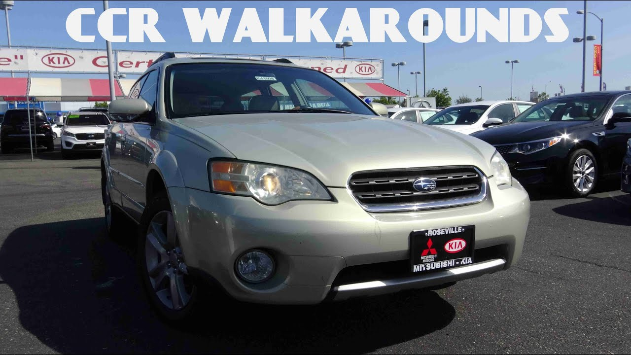 2006 subaru outback ll bean edition walkaround exterior. Black Bedroom Furniture Sets. Home Design Ideas