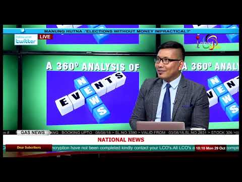 ELECTIONS WITHOUT MONEY IMPRACTICAL? OnManung Hutna 29 October 2018