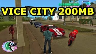 (200 MB) GTA VC (VICE CITY) ON ANDROID 100%WORKING WITH PROOF