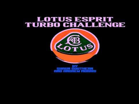 Lotus Esprit Turbo Challenge - Amiga Gameplay -  Gremlin 1990