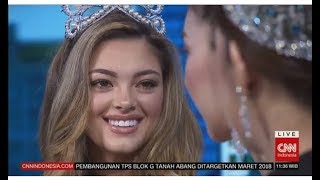 CNN Indonesia With Miss Universe, Internasional, Supranational 2017 & Puteri Indonesia 2018