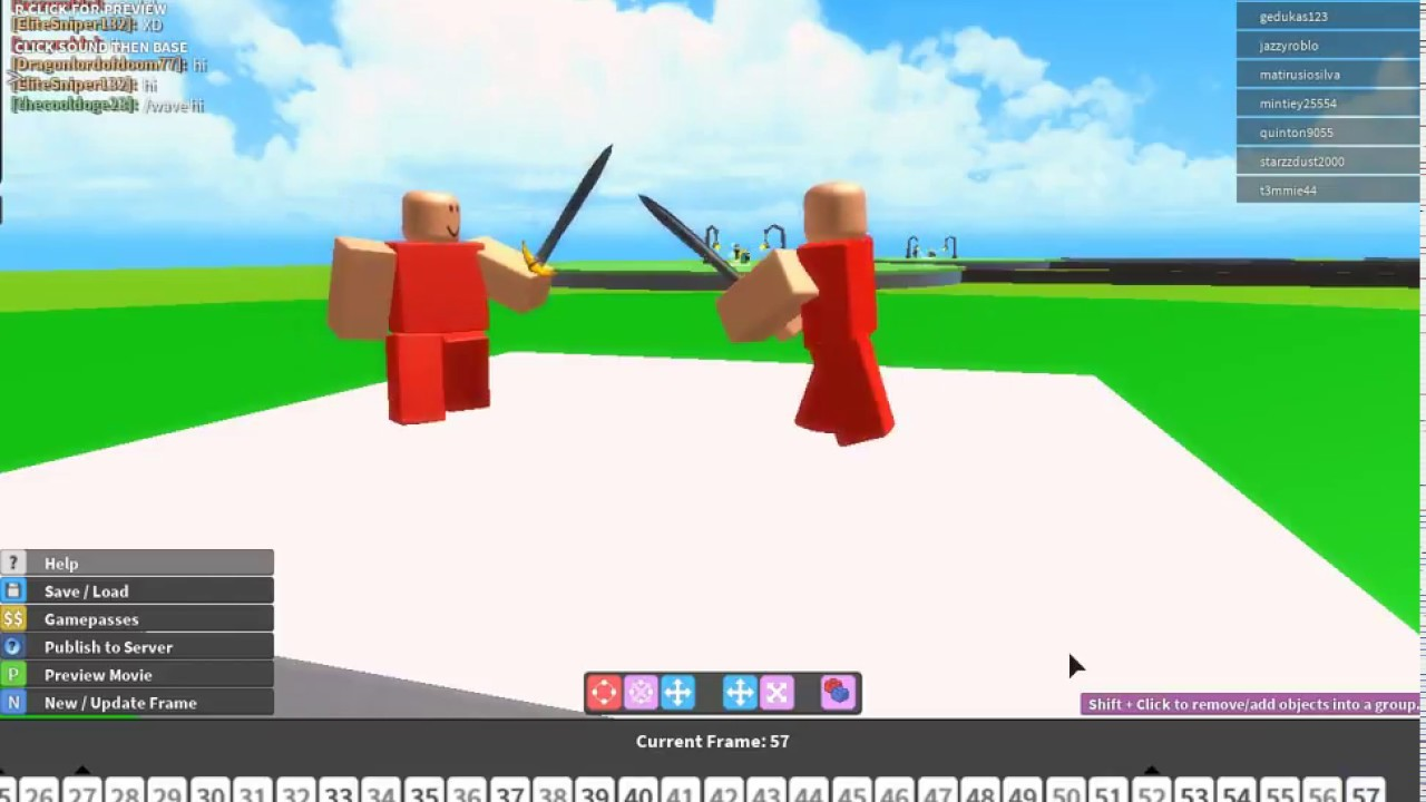 Friendly Fight Roblox Movie Maker 3 Youtube
