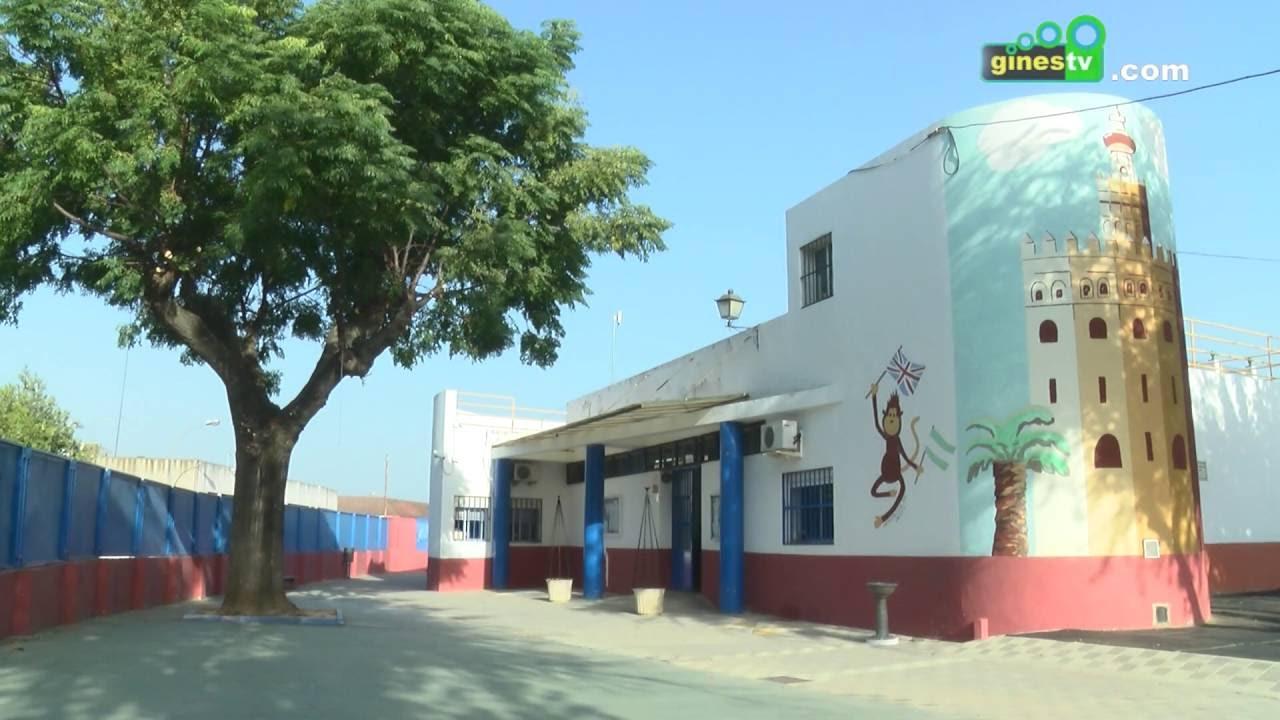 El Ayuntamiento pone a punto los colegios públicos de Gines ante el inicio del nuevo curso