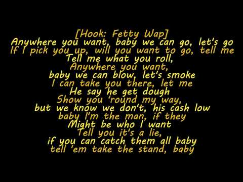 Yo Gotti - Tell Me (Feat. Fetty Wap) (Lyrics)