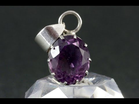 amethyst pendant youtube amethyst pendant mozeypictures Images