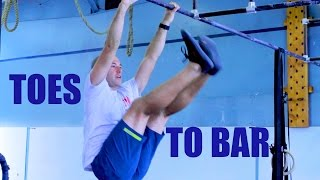 HOW TO IMPROVE TOES TO BAR