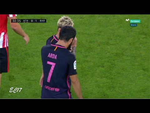Arda Turan vs Athletic Bilbao (Away) (28/08/2016) 1080p HD by EC17