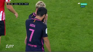 Arda Turan vs Athletic Bilbao (Away) (28/08/2016) 1080p HD by EC17