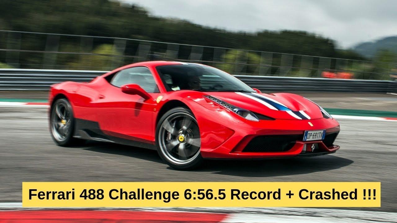 POV Ferrari 488 Challenge Nurburgring Nordschleife 6:56 ...