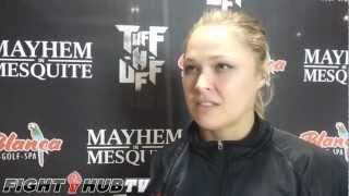"""Ronda Rousey """"Me and Marina giggle when they mention Cyborg"""" talks Shafir"""
