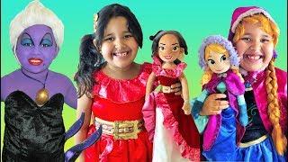 Disney Princesses Halloween Costumes Ursula Makeup and Toys