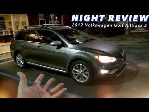Night Review - 2017/2018 VW Golf Alltrack S w/1.8Turbo 4Motion | Exterior & Interior Lighting