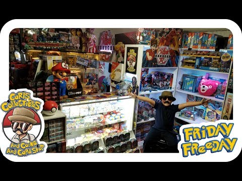 THE BEST STORE IN THE ENTIRE WORLD!! CARLS COLLECTIBLES GRAND REOPENING!! CARL SELLS STOLEN STUFF!?