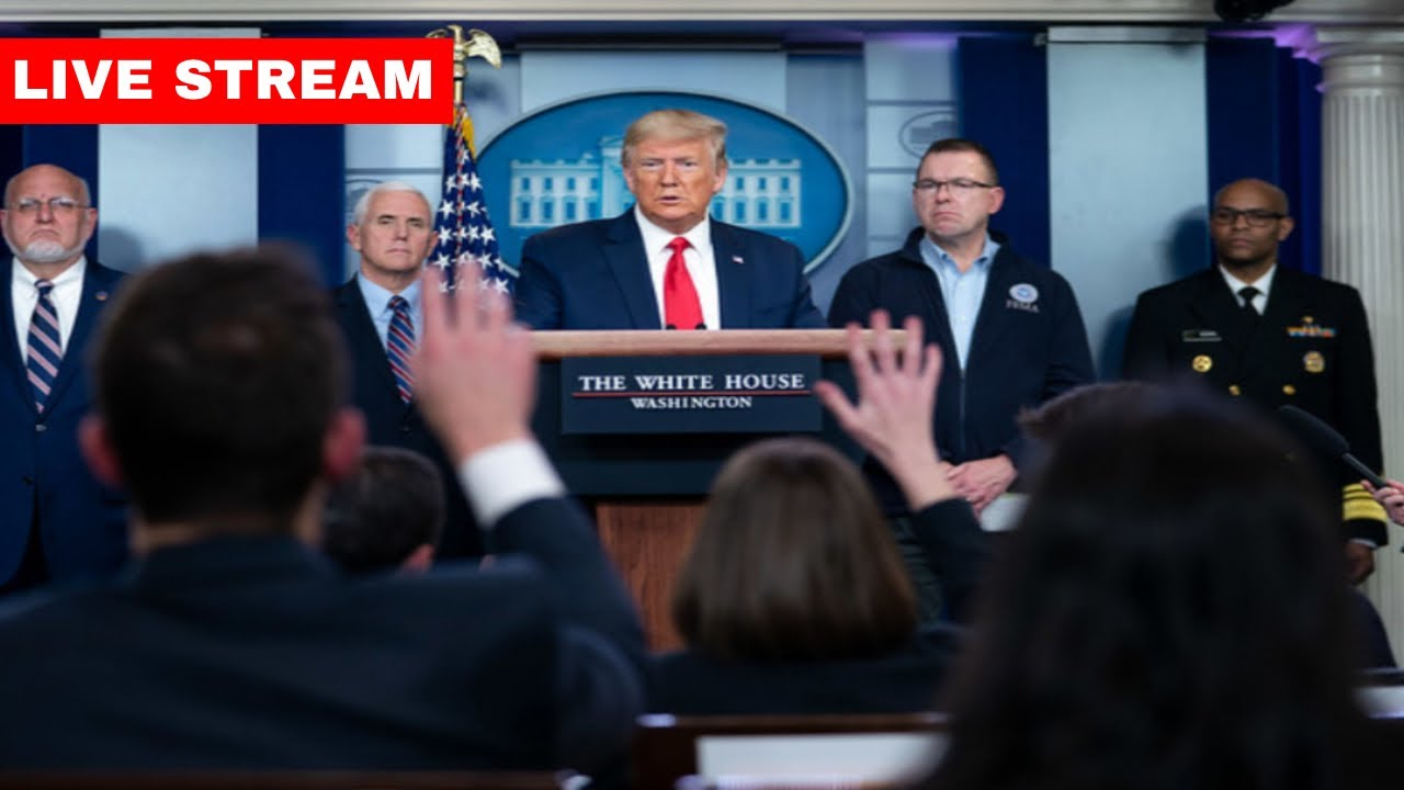 LIVE: President Trump and Members of the Coronavirus Task Force Press Briefing
