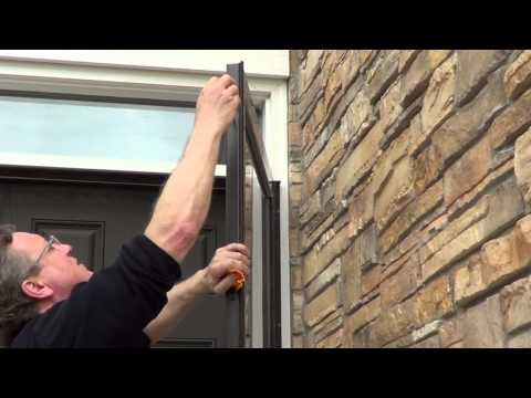 How to Install a Storm Door - Anderson 3000