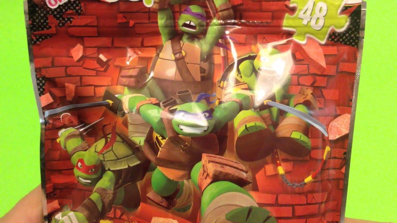 teenage mutant ninja turtles 48 piece puzzle on the go youtube
