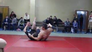 Олег Тактаров показал свои коронные приемы в спортшколе города Балаково