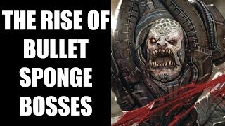 Why Are Video Game Bosses Becoming Bullet Sponges These Days?