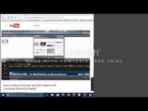 How to record screen on your pc & edit with Camtasia Studio 8