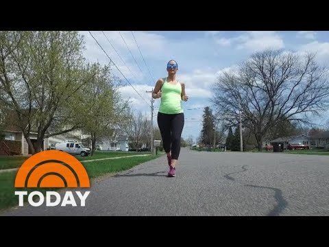 Meet The Mom-To-Be Who's Running Throughout Her Pregnancy | TODAY