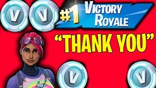 I Helped The Cutest Kid Win in Fortnite Battle Royale!!