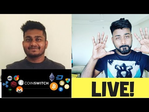 COIN SWITCH-  CRYPTO CONVERSATION WITH SHARAN NAIR.