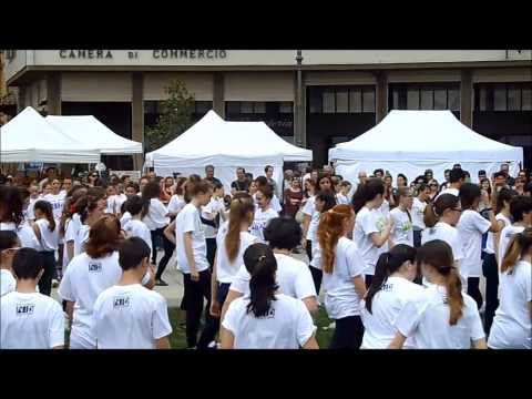 Flash Mob - NID Platform 2014