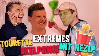 Tourette spielt extrem EKELHAFTES EKELPONG mit Rezo!! - Rezo's Erfahrungen mit Tourette!