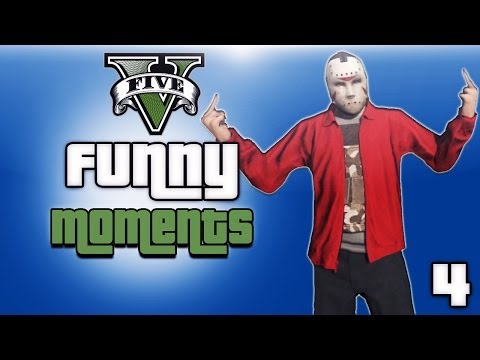 GTA 5 Online Funny Moments Ep. 4 (Store...