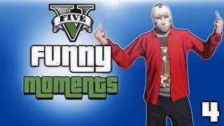 gta 5 online funny moments ep 4 store heist hit and runs street fights