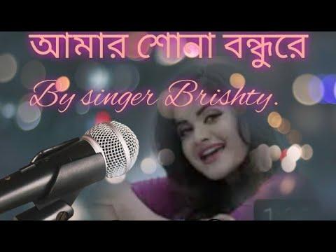 amar sona bondhure tumi kothay roila re - singer bristy