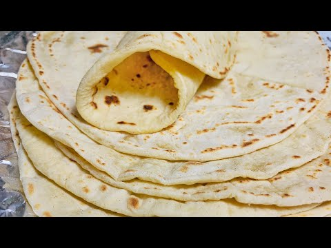 Soft Homemade Wheat Flour Tortilla - For Making  All Kinds Of Wraps / Rolls/ Pizza/ Shawarma Etc.