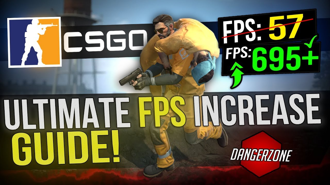 🔧 CSGO: Dramatically increase performance / FPS with any setup! F2P DANGER  ZONE UPDATE