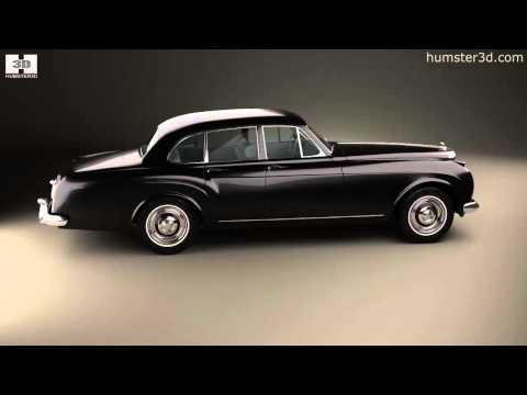 Bentley S2 Continental Flying Spur 1959 by 3D model store Humster3D.com