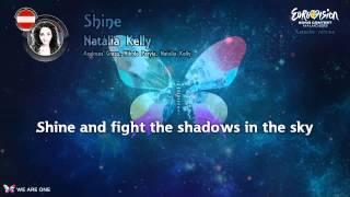 "Natália Kelly - ""Shine"" (Austria) - Karaoke version"
